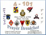 Prayer Breakfast Flyer (in HAWK ASSAULT HHC 4-101)